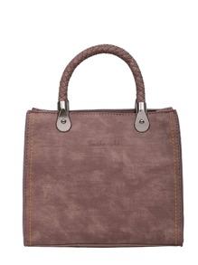 Simple PU Shoulder Bag