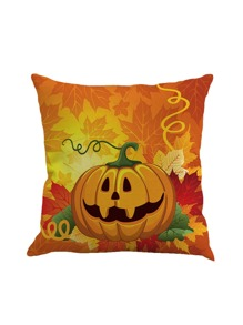 Pumpkin Print Pillowcase Cover