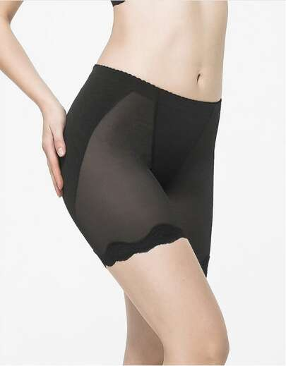 Body Shaper Shorts With Silicone pads