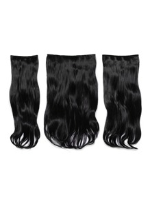 Raven Clip In Soft Wave Hair Extension 3pcs