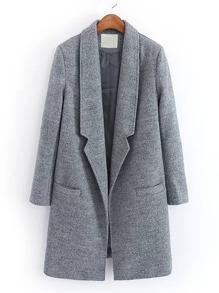 Cappotto in misto lana
