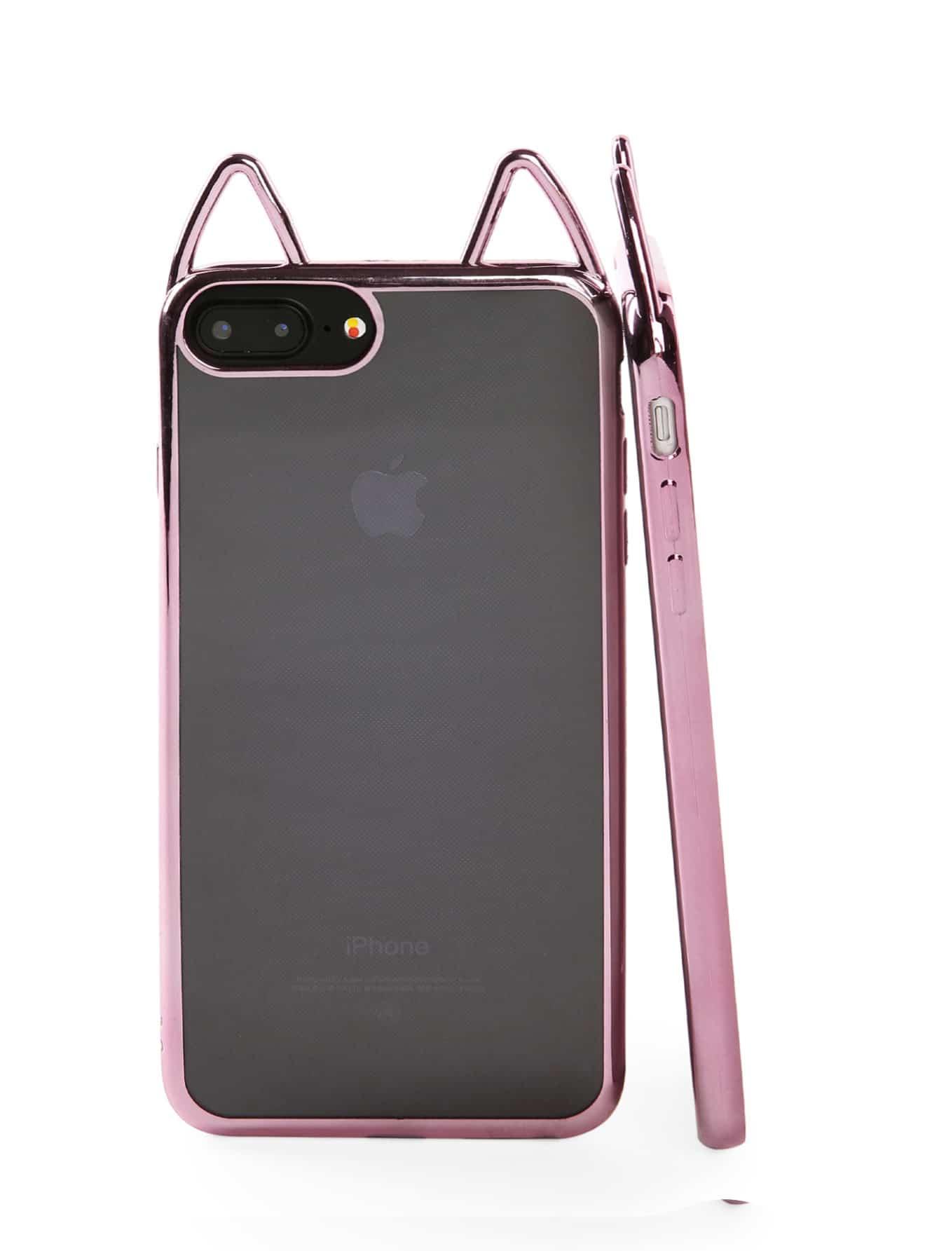 Cat ear design iphone case shein sheinside for Case design