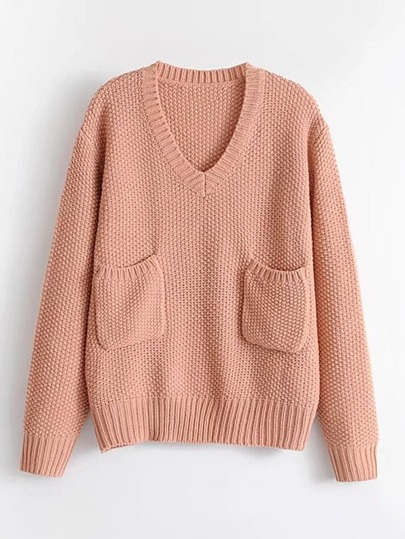 Front Pocket Jumper Sweater