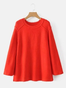 Pull avec couture