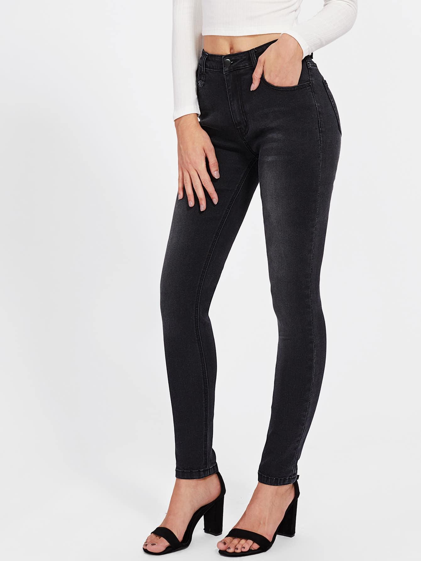 Dark Wash Tight Jeans lisa corti короткое платье