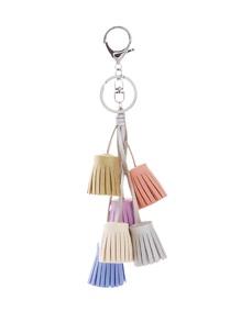 Mini Tassel Charm Keychain