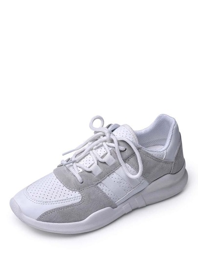 Net Surface Slip On Sneakers