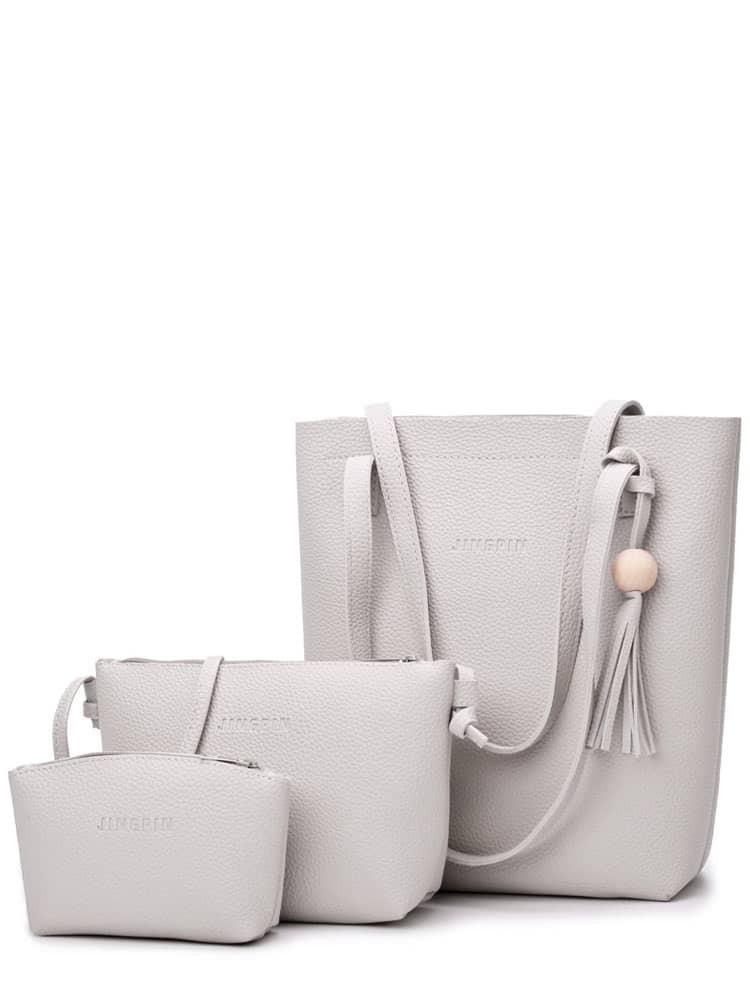 3 Pcs Tassel Pendant Combination Bags