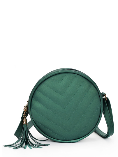 Crossbaody Bag With Tassel