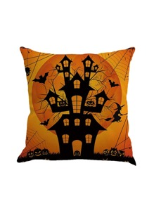 Castle Print Pillowcase Cover