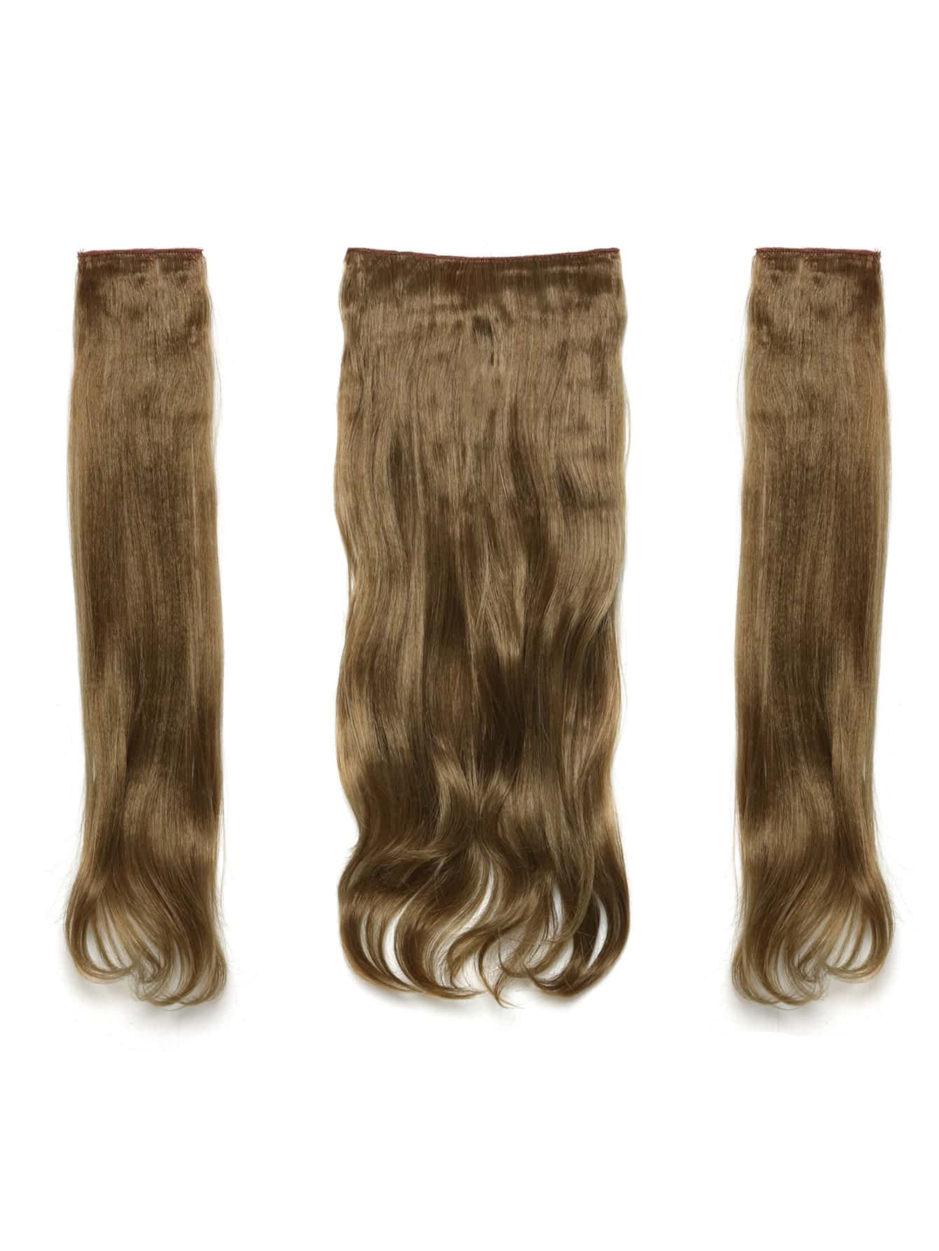цена на Harvest Blonde Clip In Soft Wave Hair Extension 3pcs