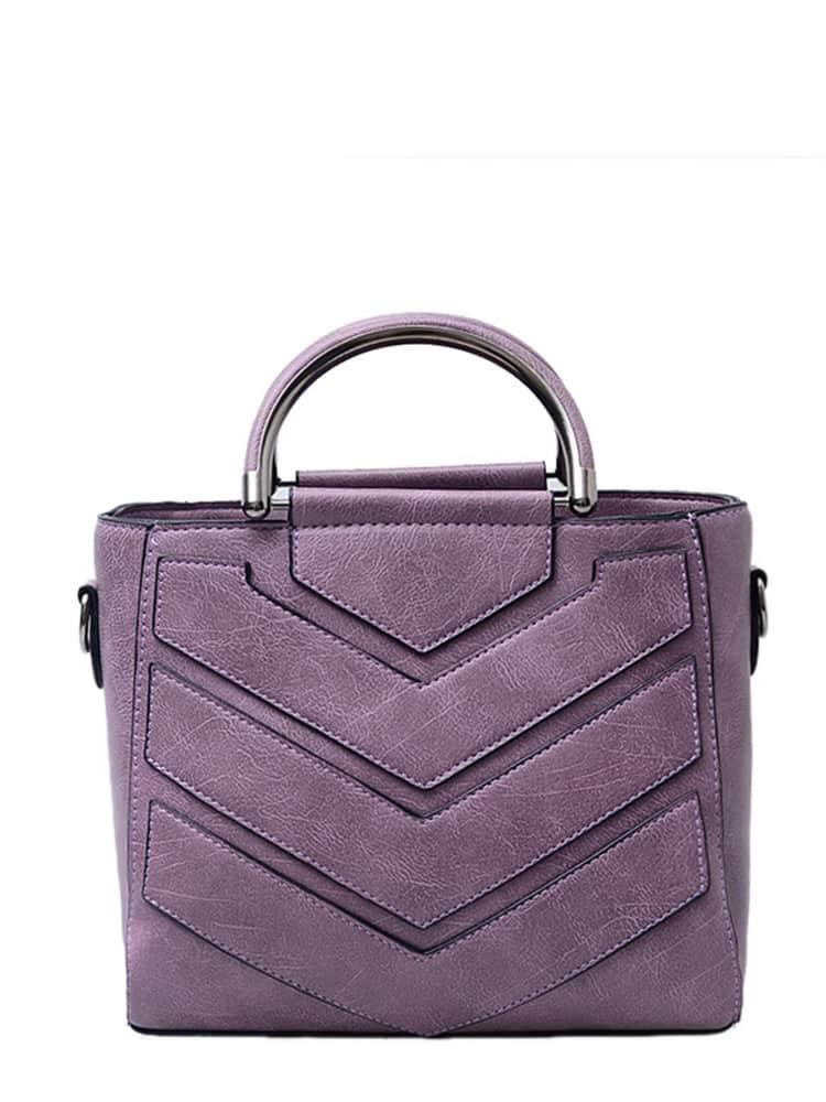 PU Shoulder Bag With Handle все цены