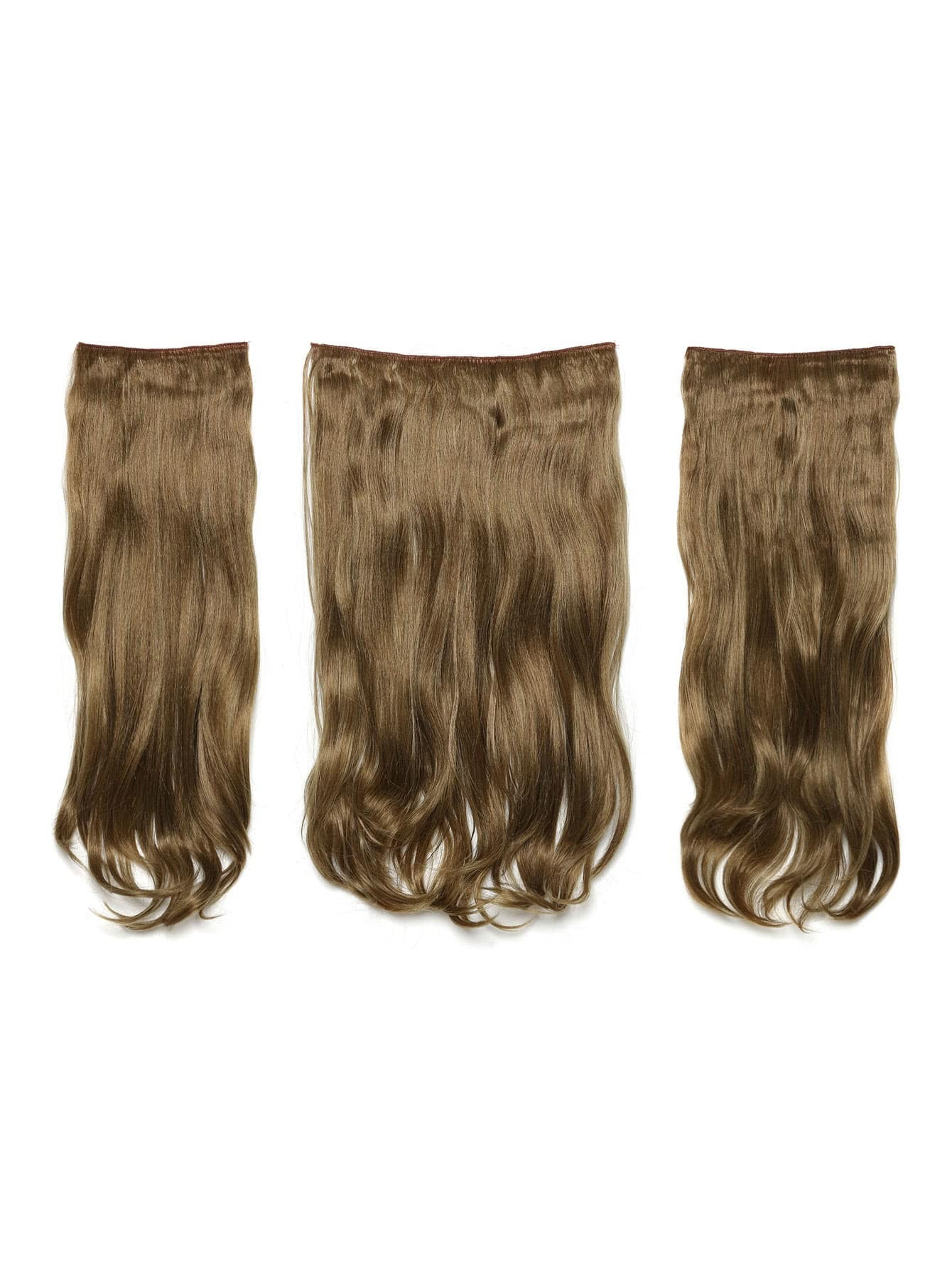 Harvest Blonde Clip In Soft Wave Hair Extension 3pcs