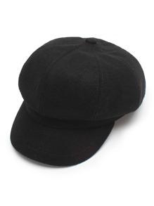 Wool Blend Bakerboy Cap