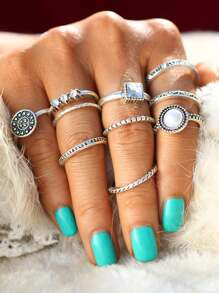 Mixed Ring Pack 10pcs