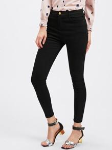 Jeans cheville moulant