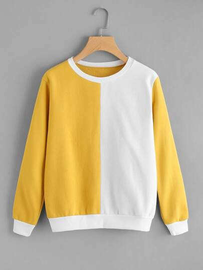 Cut And Sew Sweatshirt