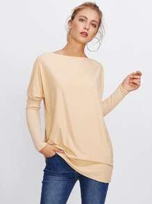 Dolman Sleeve Long Tshirt