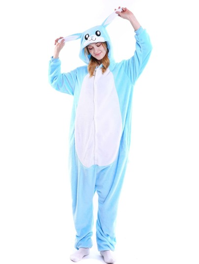 Plush Rabbit Onesie