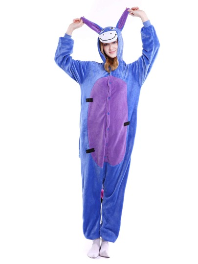 Drop Crotch Donkey Onesie