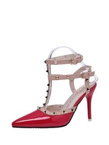 Rockstud Decorated Stiletto Heels