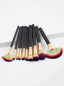 Ombre Bristle Makeup Brush 10pcs