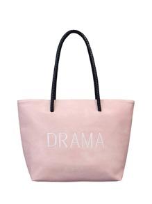 Slogan Shopper Tote Bag