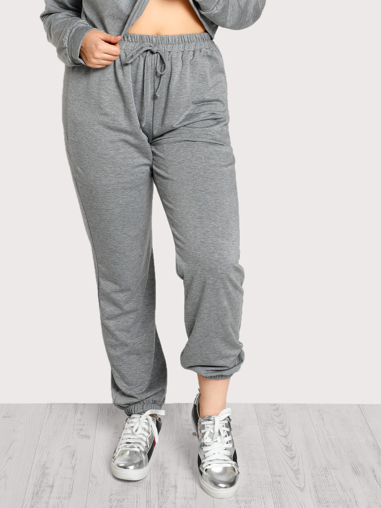Heather Knit Sweatpants pants171108703