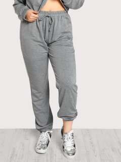 Heather Knit Sweatpants