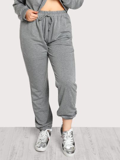 Heather Knit Sweatpants
