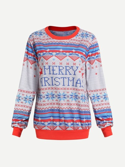 Merry Christmas Knit Sweater