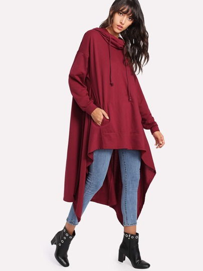 High Low Oversized Hoodie