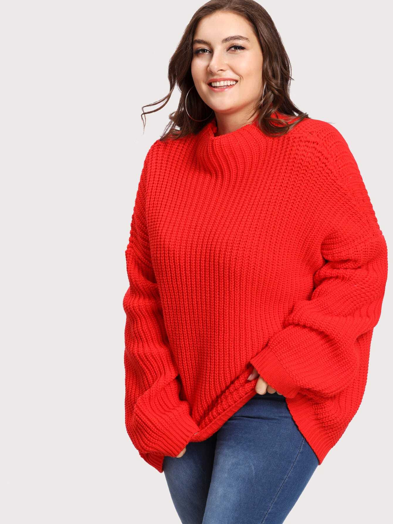 Eyelet Detail Oversized Drop Shoulder Jumper drop shoulder grommet tie detail sweatshirt
