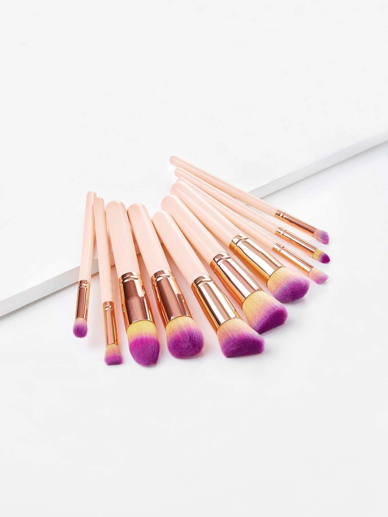 цена на Delicate Cosmetic Brush 10pcs