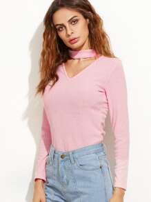 Sweater | Front | Pink