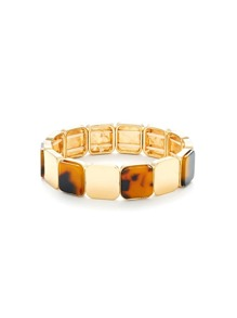Mini Square Design Bangle Bracelet