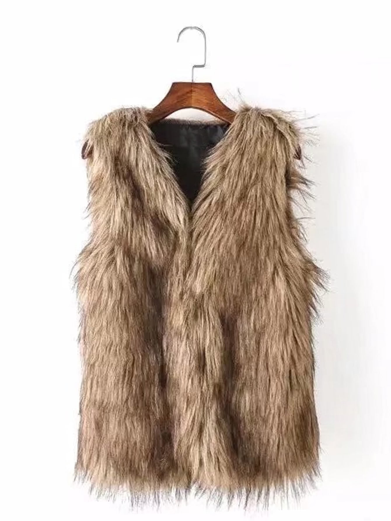 Look no further than ganjamoney.tk to shop Faux Fur Vest with Free Shipping on orders over $45! All things home, all for less.