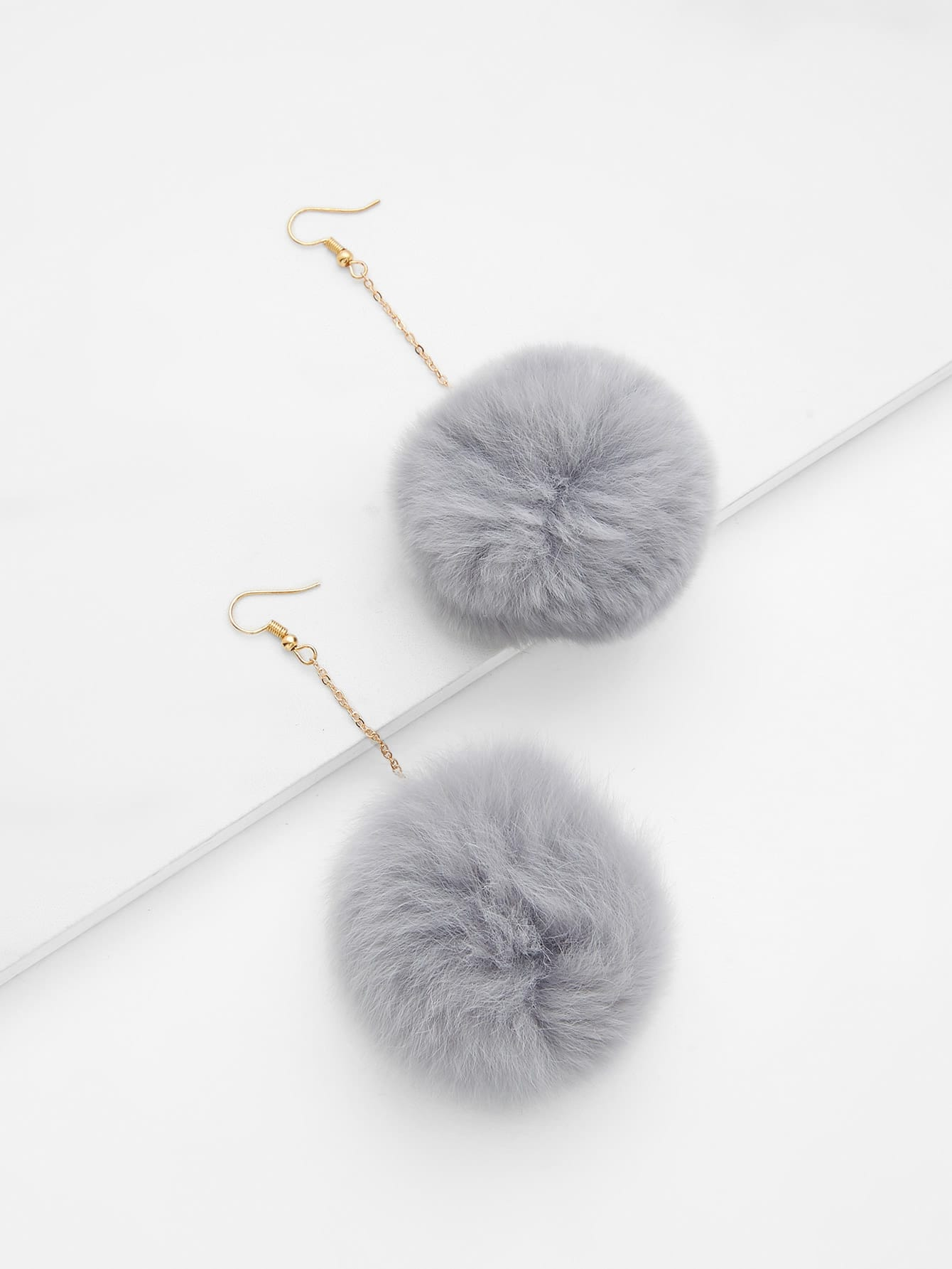цены Pom Pom Drop Earrings