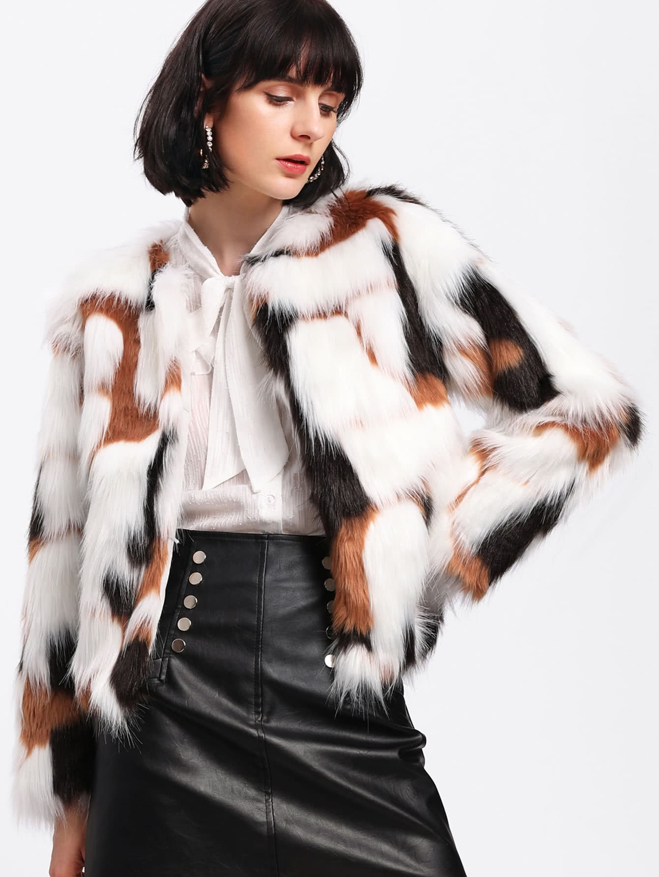 Faux Fur Coat 2017 winter new clothes to overcome the coat of women in the long reed rabbit hair fur fur coat fox raccoon fur collar