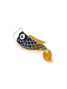 Fish Design Brooch 1pc