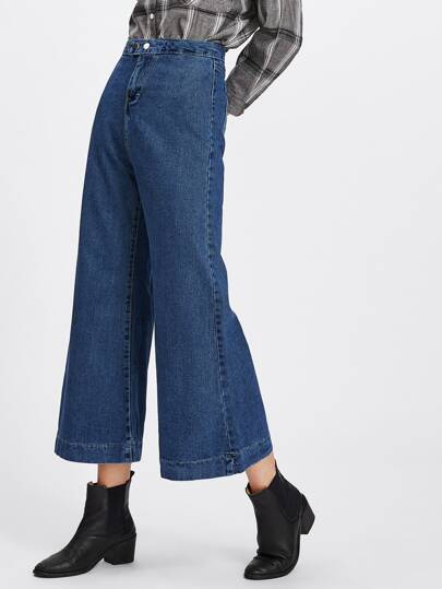 Wide Leg Flare Jeans