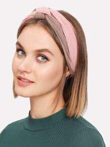 Two Tone Knot Headband
