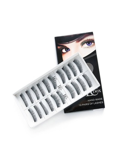 Falsches Wimpern Set 10 Paare