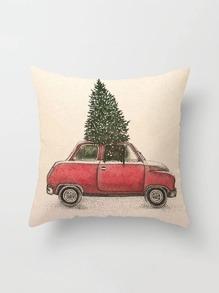 Christmas Print Pillowcase Cover