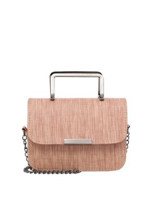 Flap Chain Crossbody Bag With Handle