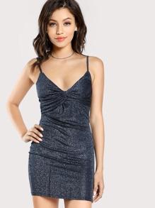 Twist Front Cami Dress
