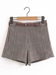 Pantaloncini a quadri