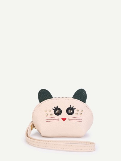 Cute PU Wallet With Ear