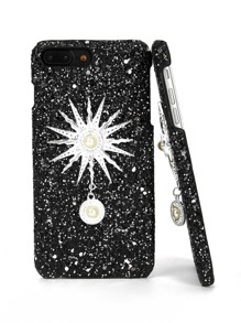 Sun God Pattern iPhone Case