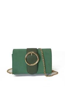 Buckle Clutch Bag
